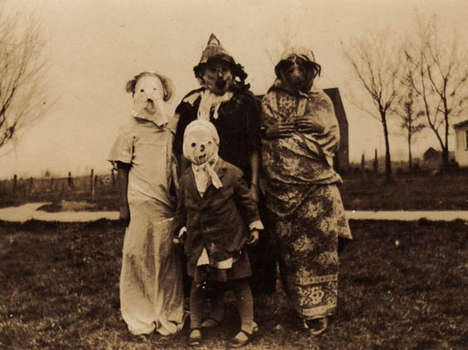 Haunting Halloween Photography - This Vintage Set of Photos Will Haunt You and Give You Chills