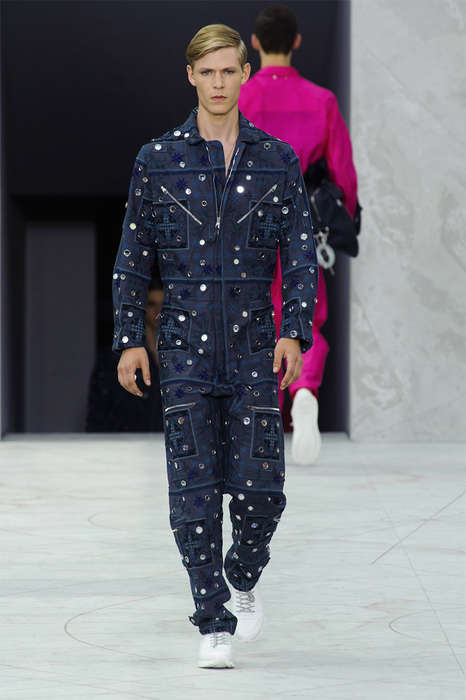 Luxe Workwear Runways - The Louis Vuitton Spring/Summer 2015 Collection is Elegantly Uniformed