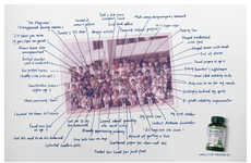 Memory Aid Ads - Neuro-PS' Ads Show Recalling Tons of Details from School Pictures