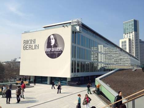 Rectilinear Monument Structures - Bikini Berlin by SAQ Reinvents a Modernist German Landmark