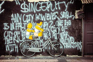 Ernest Zacharevic's Unique Street Art Plays with Surrounding Objects
