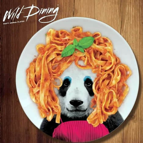 Party Animal Plates - Wild Dining