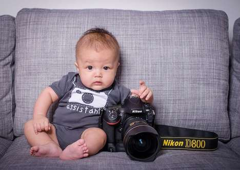 Alluring Tiny Tot Portraits - This Baby Photography Series Will Make You Want to Have Babies
