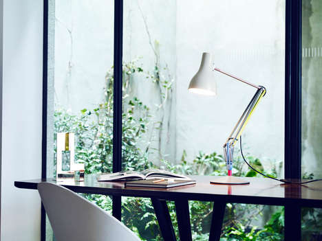 Multi-Colored Task Lighting - The Anglepoise + Paul Smith Lamp Subtly Modernizes a Classic Fixture