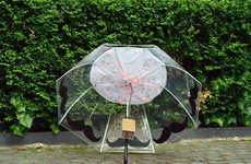 Pollution-Sensing Umbrellas - This Smart Umbrella Collects and Visualizes Air Pollution Data