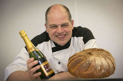 Gold-Infused Breads - Chef Robert Didie