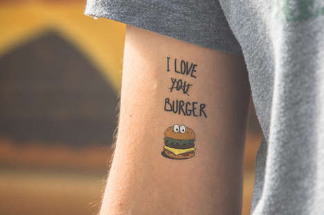 Pop Culture Temporary Tattoos - TATTOOTATTAA Temporary Tattoos are for Commitment-Phobe Hipsters