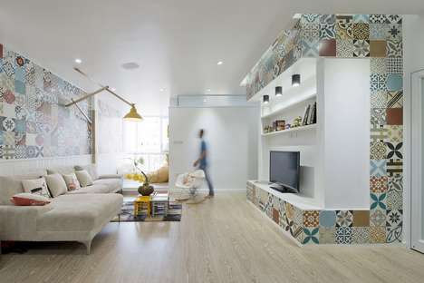 Cleverly Compact Abodes - This Charming Apartment Boasts Stunningly Compact Architectural Designs