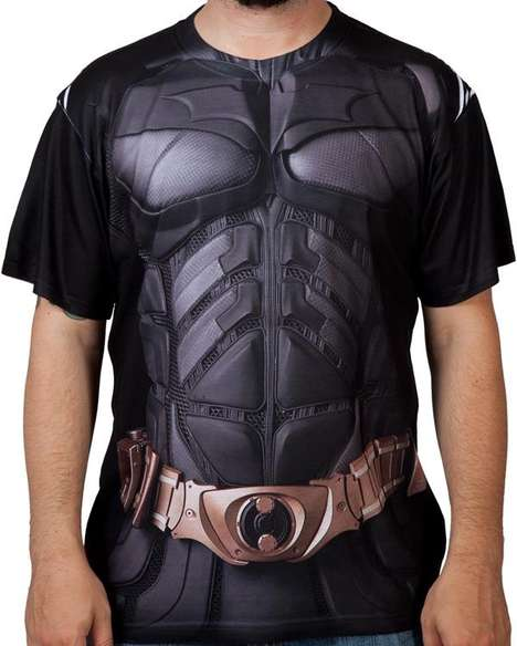 Superhero Costume Shirts - This Batman Costume Shirt Will Help Transform You into the Dark Knight