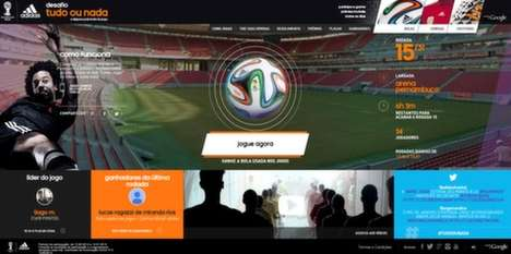 Online Soccer Scavenger Hunts - This World Cup 2014 Campaign by Adidas and Google is Interactive