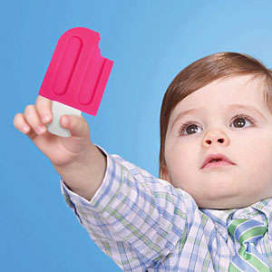 Plastic Popsicle Pacifiers - These Baby Teethers are Cleverly Designed to Look Like Icy Pops