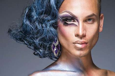 50 Drag Fashions for World Pride - From Fierce Animalistic High Heels to Temporary Eye Tattoos