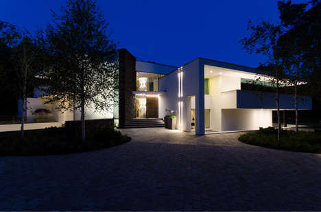 Meticulously Lit Architecture - The Villa Noord-Brabant is Illuminated with Precision
