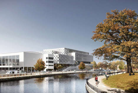 Open Facade Architecture - 3XN is Set to Build an Addition to the Malardalen University