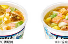 Icy Instant Noodles - Nissin's Newest Cup Noodles Encourage Eating Instant Noodles Cold