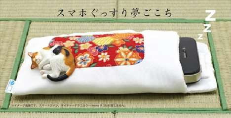 Smartphone Sleeping Pouches - Kitan Club
