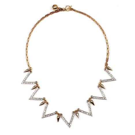 Understated French Revolution Accessories - Lulu Frost's Guillotine Necklace is Monarch-Inspired