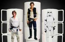 Star Wars Stacking Mugs Will Make Your Coffee More Full of the Force
