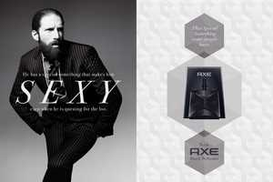 These Axe Body Spray Ads Are Presented Like High-End Men's Perfume