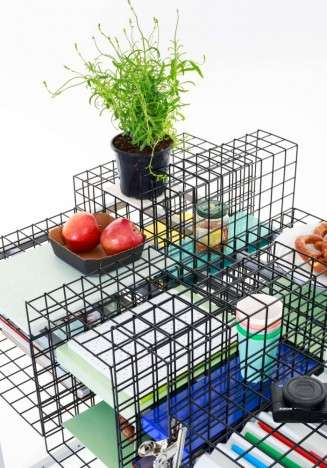 Reconfigurable See-Through Desks - The Grid System by Yin Chang is Inspired by Traditional Design