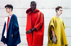 Vanguard Outerwear Editorials - F****** Young! Online's SEMPERVIVUM Exclusive is Elegantly Modern