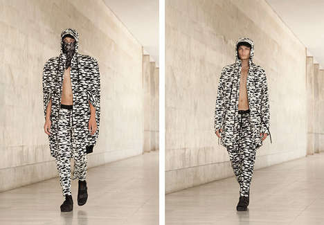 Vanguard Bandit Runways - The Angelos Frentzos Spring/Summer 2015 Collection is Elegantly Urban