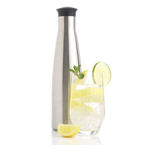 Portable Soda Makers - The Purefizz Soda Maker Makes Soda Anywhere, Anytime
