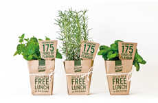 Instant Garden Invitations - Knorr's 175th Anniversary Invitations Take the Shape of Plant Pots