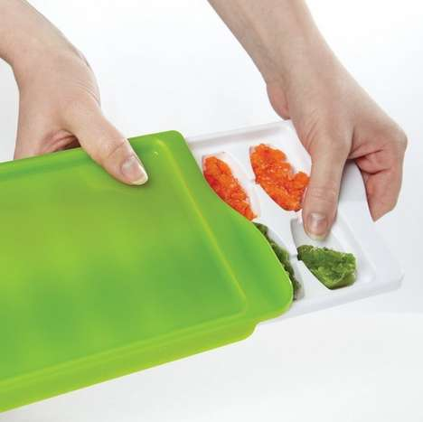 Frozen Infant Food Trays - The Baby Food Freezer Tray by OXO Keeps Homemade Baby Food Fresh