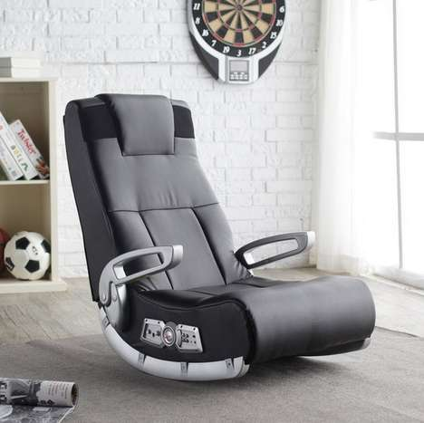 Immersive Gaming Chairs - The X Rocker Interactive Audio Gaming Chair is a Gamer's Dream