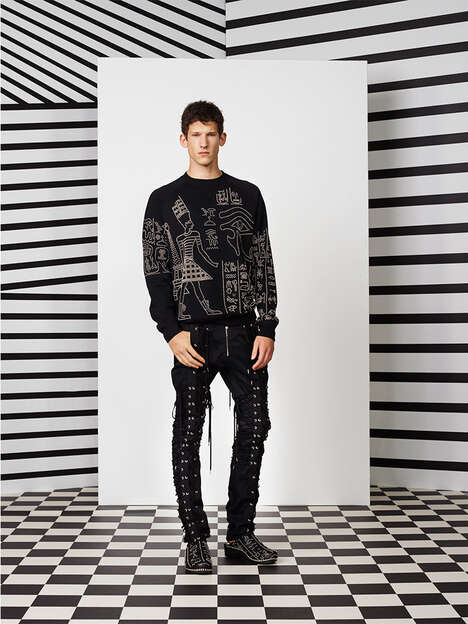 Modern Egyptian Menswear - The Jean Paul Gaultier Men Spring/Summer 2015 Collection is 90s-Themed