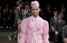 Conceptual Cadet Runways - The Thom Browne Spring/Summer 2015 Collection is Toy Soldier Inspired