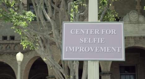Mock Selfie School Campaigns - The Center for Selfie Improvement Helps Improve Your Selfies