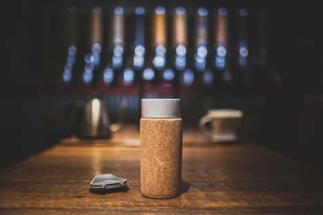 Sustainable Travel Mugs - The CORTIÇA Travel Coffee Mug is for Coffee Connoisseurs