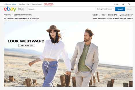 Aggregated Designer Web Shops - The Designer Collective is a New eBay Shopping Store