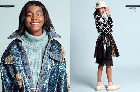 Youthfully Eccentric Editorials - Sport and Street Magazine