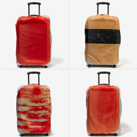 Sushi Luggage Covers - These Sushi Suitcase Covers Make Baggage Claim Much More Entertaining