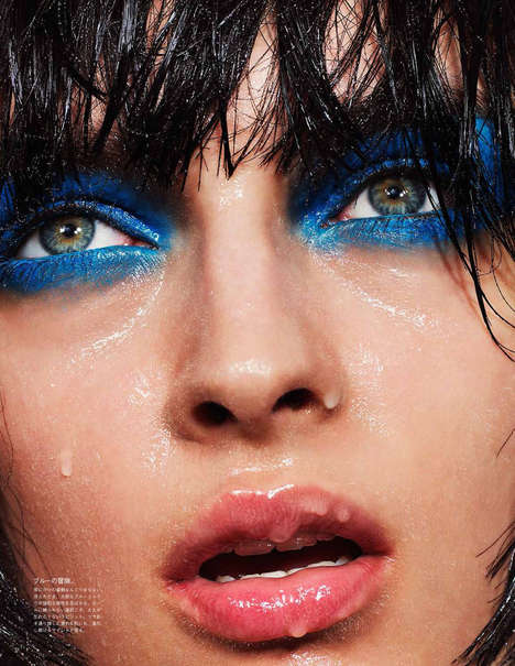 Drenched Cosmetic Captures - Vogue Japan Beauty