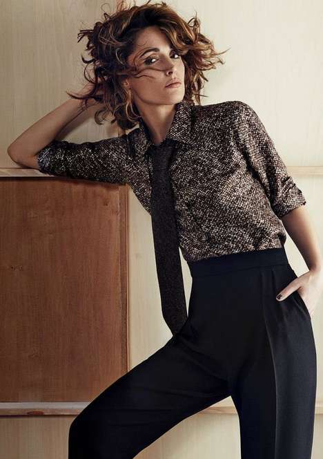 Fashion-Honoring Celeb Lookbooks - The Max Mara Face of the Future Photoshoot Stars Rose Byrne