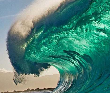Epic Wave Photography - Surfer Clark Little Captures Powerful Images with a Simple Handheld Camera