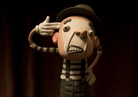 Animated Clay Sculptures - Gianluca Maruotti Turns Modeling Clay into Funky Characters