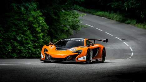 Tournament Treated Racers - The McLaren 650S GT3 Got a New Makeover for the Races