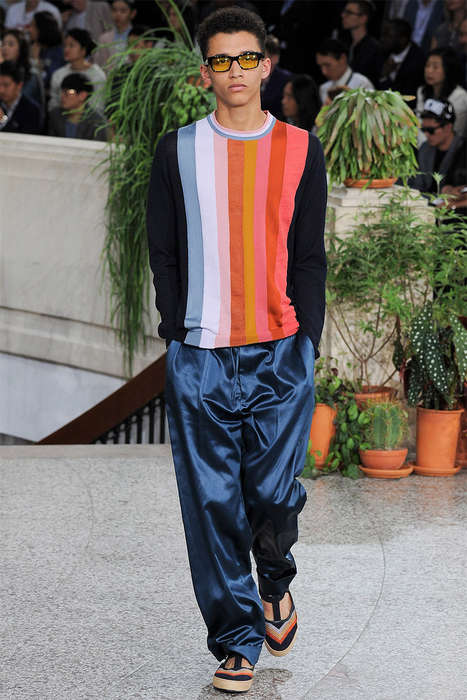 Color Spectrum Menswear - The Paul Smith Spring/Summer 2015 Collection is Nostalgic