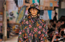 Hawaiian Sportswear Attire - The Y-3 Spring/Summer 2015 Collection is Pattern-Enriched
