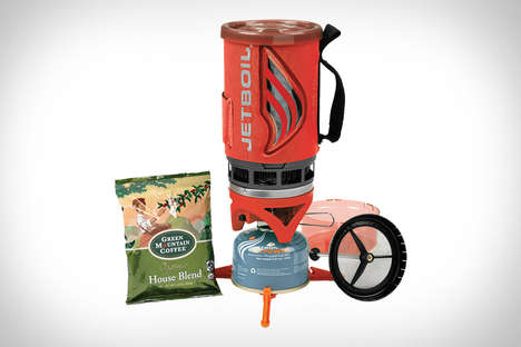 Camping Coffee Brewers - The Jetboil Flash Java Kit is a Great Camping Accessory to Have