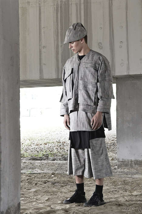 Nomadic Streetwear Lookbooks - The JOE CHIA Spring/Summer 2015 Catalog Highlights Layered Looks