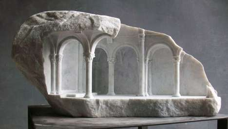 Miniature Marble Architecture - Matthew Simmonds