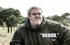 Medieval Messaging Apps - The Yo, Hodor Parody App Lets You Shout 'Hodor Hodor' To Your Friends