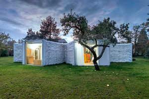 This Novel House Design Balances Intimacy with Isolation