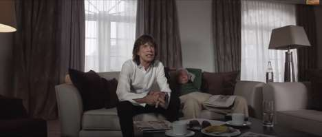 Aging Icon Promos - Mick Jagger Pokes Fun of Himself While Advertising the Monty Python Reunion